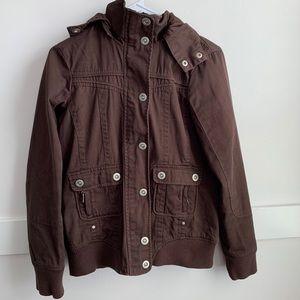 Vanity Brown Utility Jacket